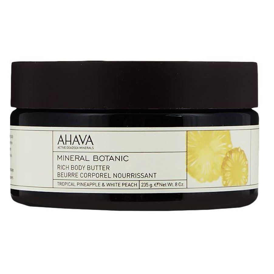 Масло Ahava Масло для тела ананас/персик 235 мл кремы markell pt крем парафин для ног персик 100 мл