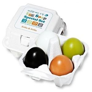 Набор: Мыло Holika Holika Egg Soap Special Set (Набор: 4 * 50 гр) holika holika egg soap special set 4 type 50g x 4 pcs moisturizing whitening soap deep cleansing dead skin korea cosmetic
