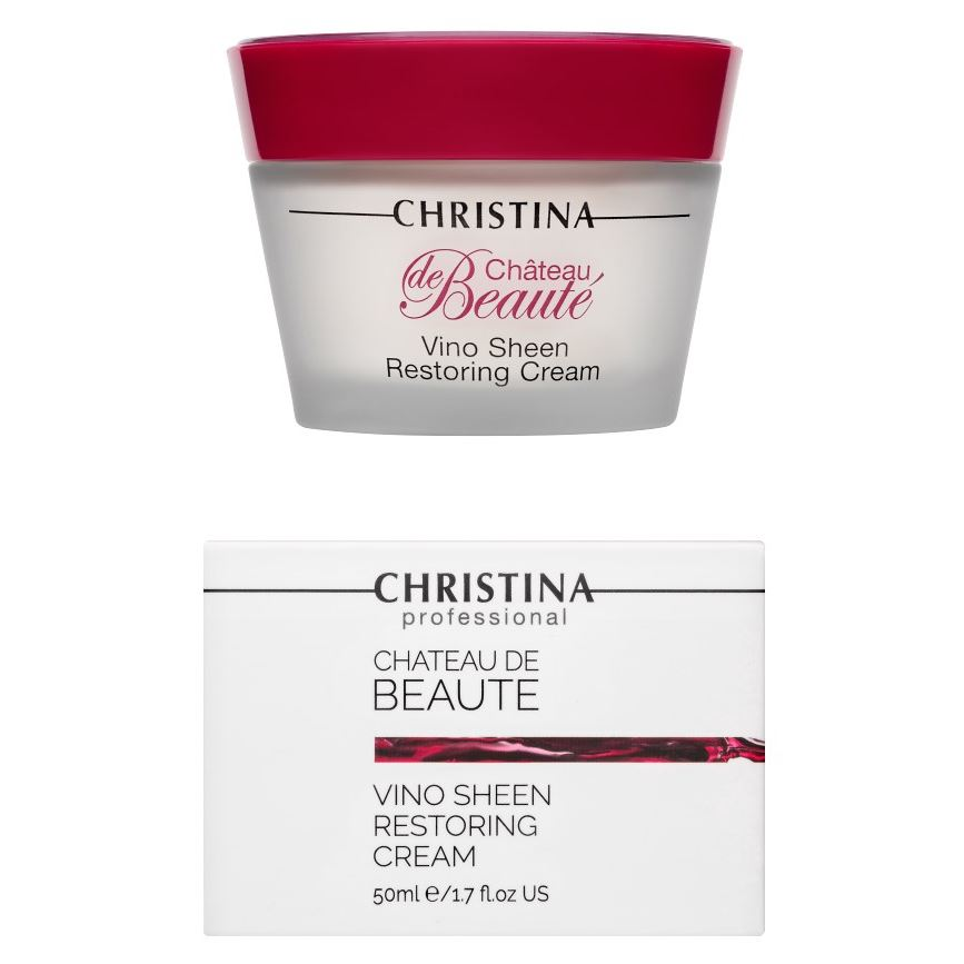 Крем Christina Vino Sheen Restoring Cream christina крем восстанавливающий великолепие vino sheen restoring cream chateau de beaute 50мл