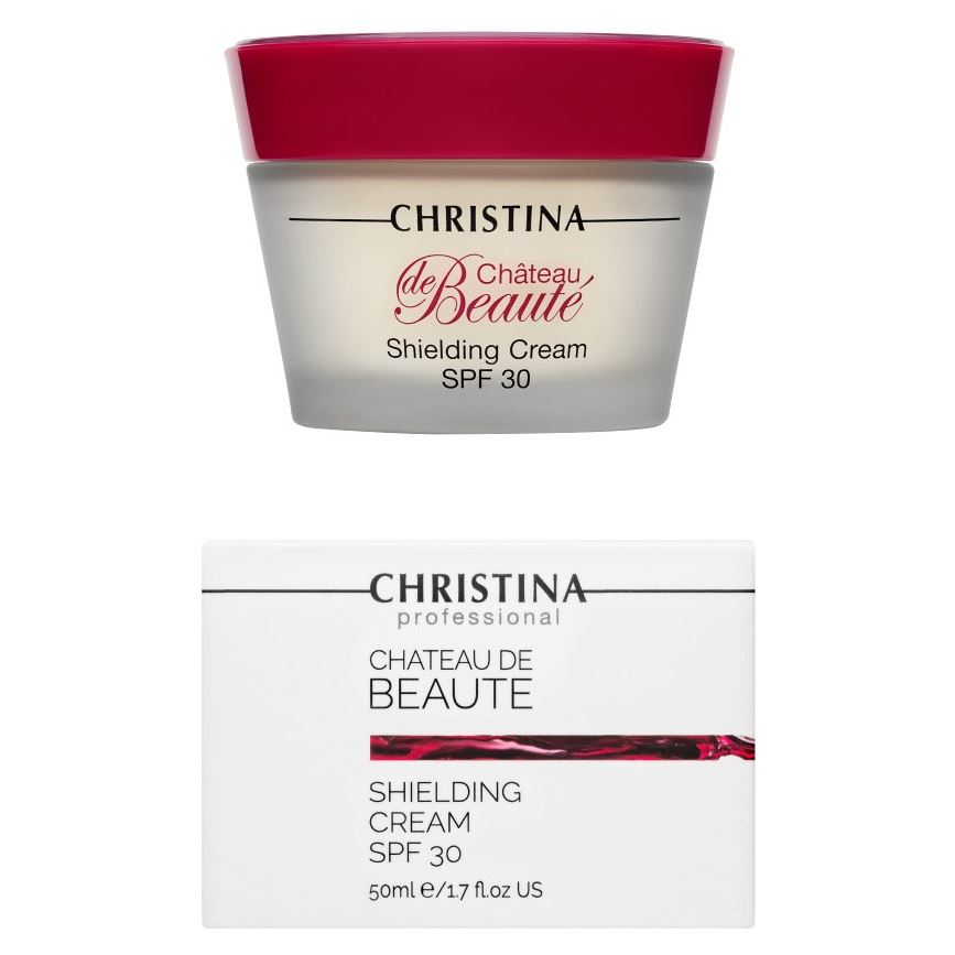 Крем Christina Shielding Cream SPF 35 christina крем восстанавливающий великолепие vino sheen restoring cream chateau de beaute 50мл