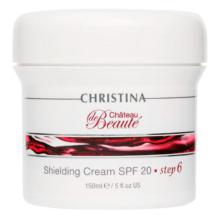 Крем Christina Step 6 Shielding Cream SPF 35 150 мл крем depilica professional foot cream step 5 200 мл