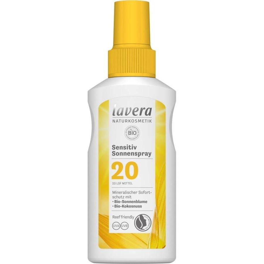 Спрей Lavera Sun Spray SPF 20 125 мл спрей lakme sun care protection spray