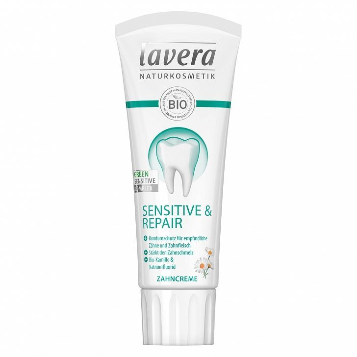 Зубная паста Lavera Toothpaste Sensitive 75 мл зубная паста logona mineral toothpaste объем 75 мл