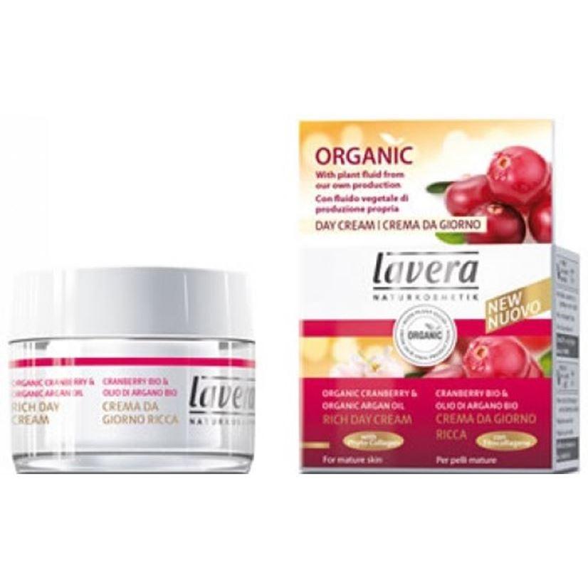 Дневной уход Lavera Cranberry. Rich Day Cream дневной крем для сухой кожи dr scheller с маслом чертополоха спб