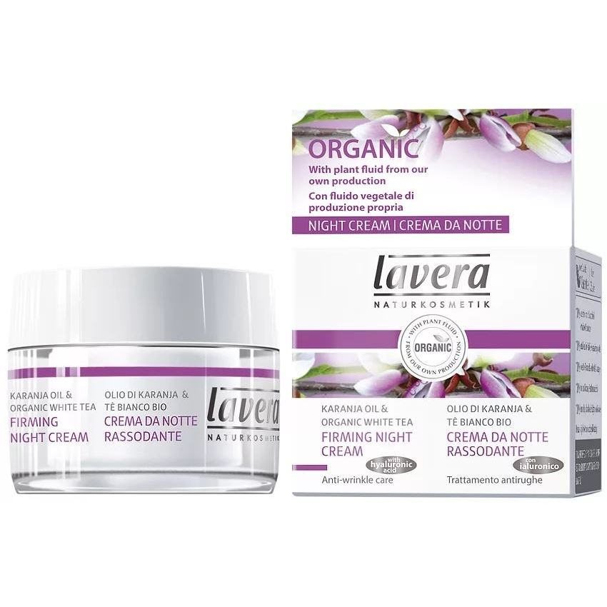 Lavera Firming Night Cream White Tea & Karanja Oil
