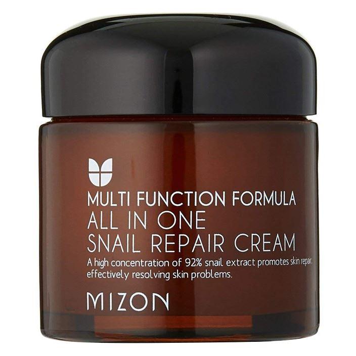 Крем Mizon Snail Repair Cream All In One 75 мл mizon enjoy fresh on time revital lime hand cream крем для рук с экстрактом лайма 50 мл