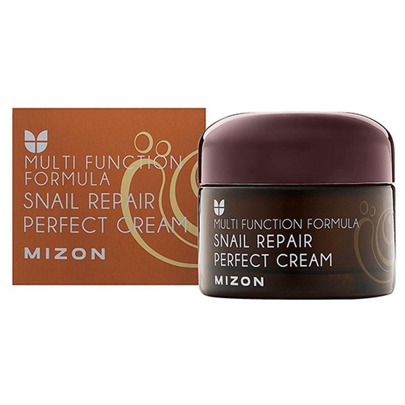 Крем Mizon Snail Repair Perfect Cream 50 мл mizon enjoy fresh on time revital lime hand cream крем для рук с экстрактом лайма 50 мл