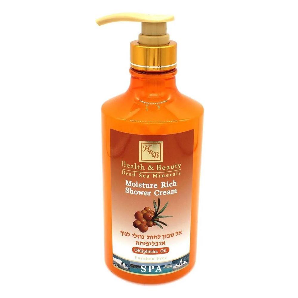 Гель для душа Health & Beauty Shower Cream Moisture Rich Obliphiha Oil 780 мл