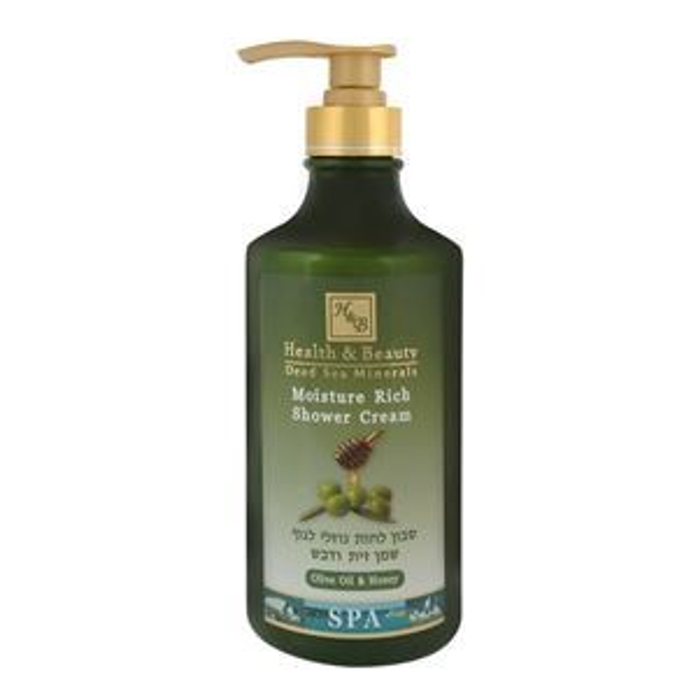 Гель для душа Health & Beauty Shower Cream Moisture Rich Oliva & Honey 780 мл шампунь health and beauty 780 мл