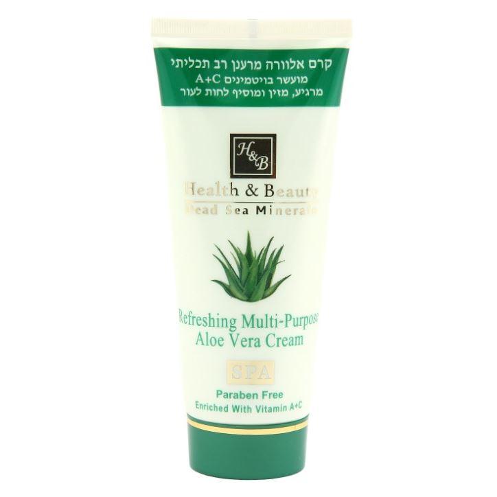 Крем Health & Beauty Cream Aloe Vera Multi - Purpose beauty image баночка с воском с маслом оливы 800гр