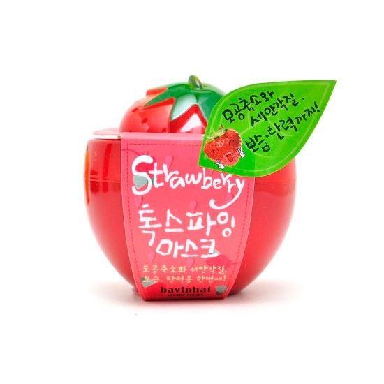 Маска Baviphat Strawberry Toxifying Mask (130 г) юбка strawberry witch lolita sk