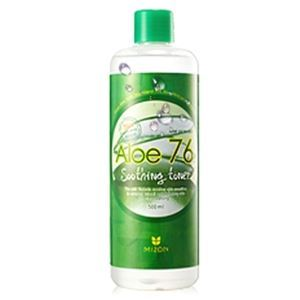 Тоник Mizon Toner Aloe 76% Soothing 500 мл
