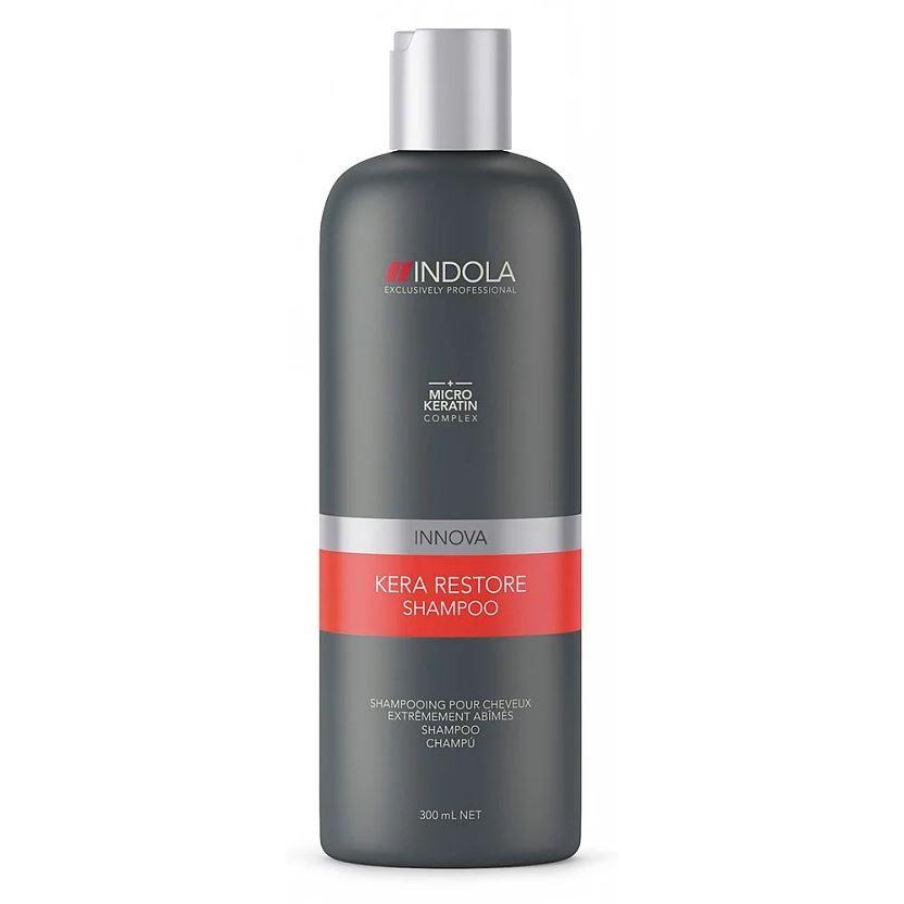 Шампунь Indola Professional Kera Restore Shampoo 1000 мл indola professional kera restore shampoo
