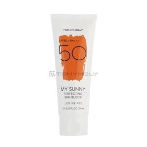 Крем Tony Moly My Sunny Perfecting Sun Block SPF 50+ PA+++ карандаши tony moly my school looks multi color pencil 06
