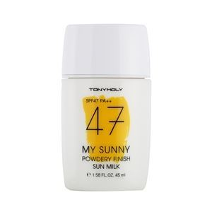 Молочко Tony Moly My Sunny Powdery Finish Sun Milk SPF47 PA++ 45 мл