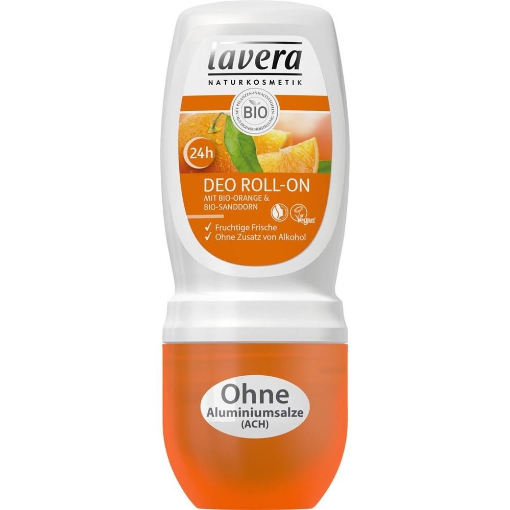 Дезодорант Lavera Organic Orange & Organic Sea Buckthorn Roll-on Deodorant дезодорант lavera organic orange