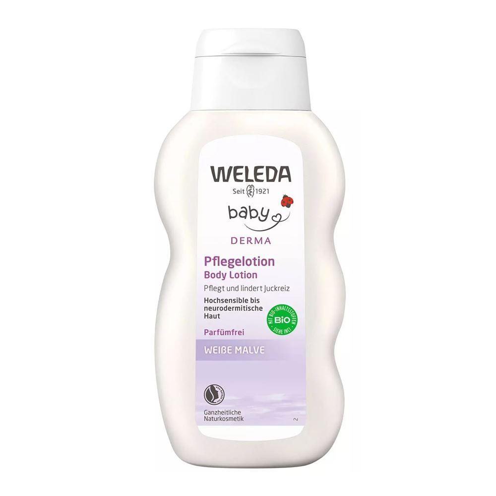 Молочко Weleda Молочко для тела с алтеем молочко weleda молочко гранатовое