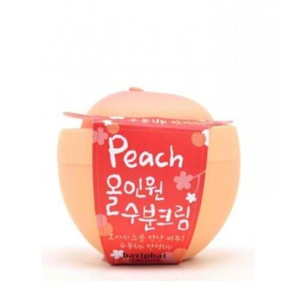 Крем Baviphat Peach All-in-one Moisture Cream 100 мл the yeon lotus roots 365 moisture bubble cream крем для лица увлажняющий 50 мл