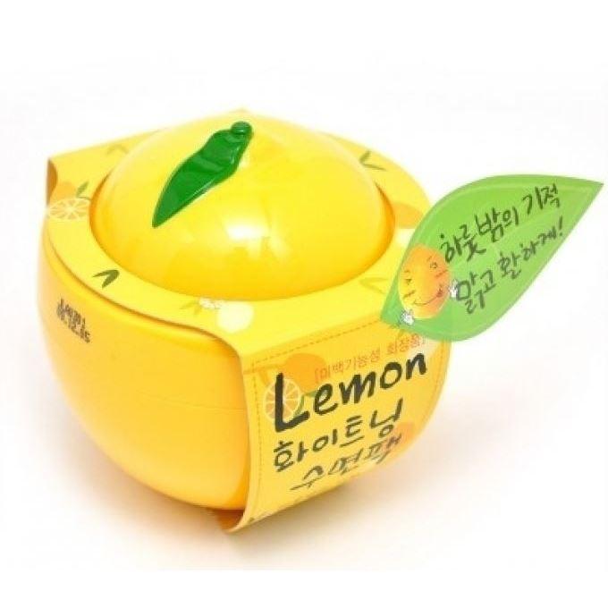 Маска Baviphat Lemon Whitening Sleeping Pack Miniature 100 мл ночная маска holika holika honey sleeping pack canola объем 90 мл