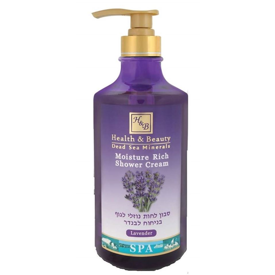 Гель для душа Health & Beauty Shower Cream Moisture Rich Lavender