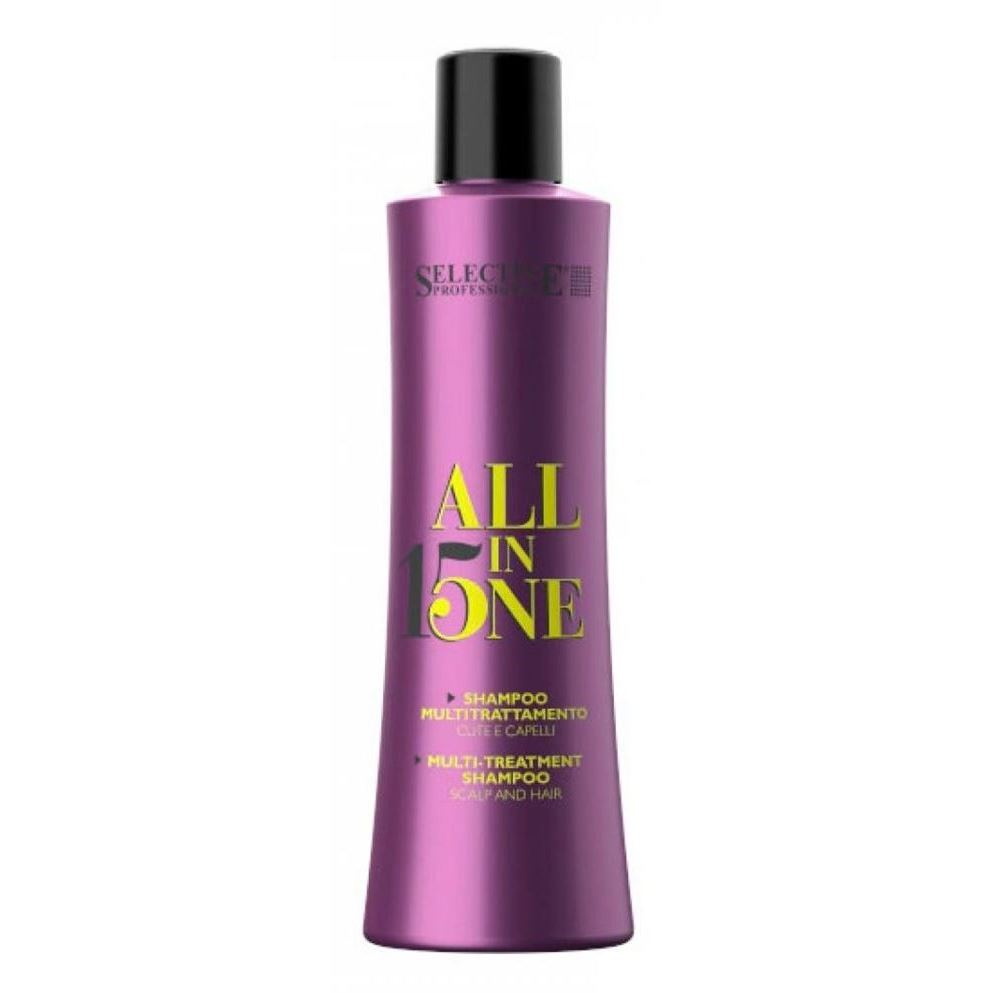 Шампунь Selective Professional All in One Shampoo набор selective professional golden power shampoo