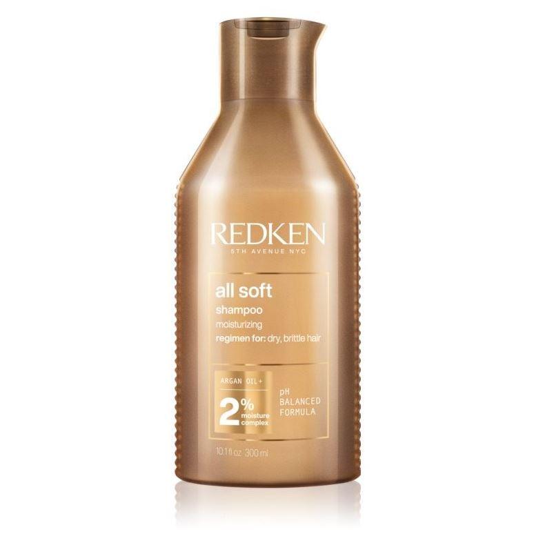 Шампунь Redken All Soft Shampoo redken смягчающий кондиционер для сухих ломких и жестких волос all soft 250 мл