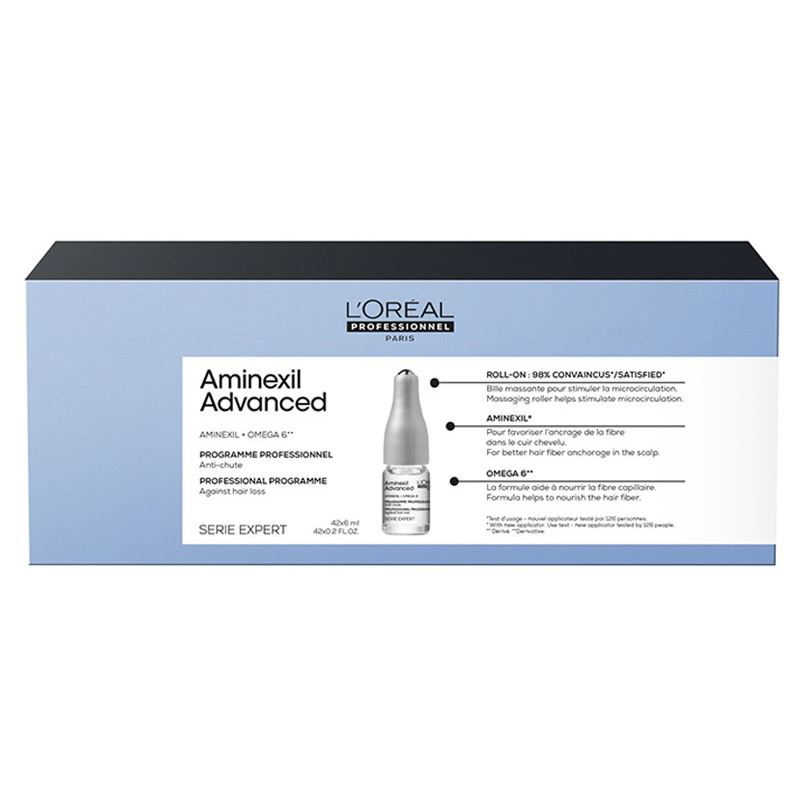 Ампулы L'Oreal Professionnel Aminexil Advanced Expert 42 мл