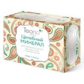 Мыло Teana Целебный минерал (100 гр) мыло косметическое cattier cattier мыло мягкое натуральное с зеленой глиной упаковка 150 г