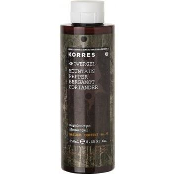 Гель для душа Korres Mountain Pepper Shower Gel 250 мл гель для душа korres shower gel almond