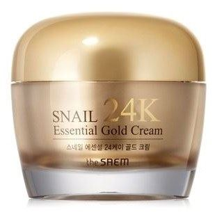 Крем The Saem Snail Essential 24K Gold Cream 50 мл крем the saem chocopie hand cream marshmallow 3 35 мл