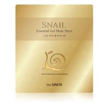 Маска The Saem Snail Essential Gel Mask Sheet (28 г) гель the saem snail soothing gel объем 300 мл