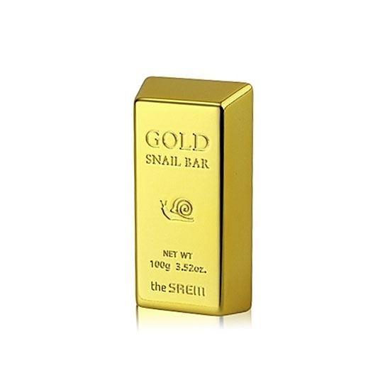 Мыло The Saem Gold Snail Bar (100 гр) golden snail 72v60v