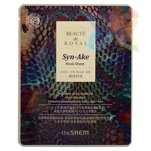 Маска The Saem Beaute de Royal Mask Sheet Syn-Ake