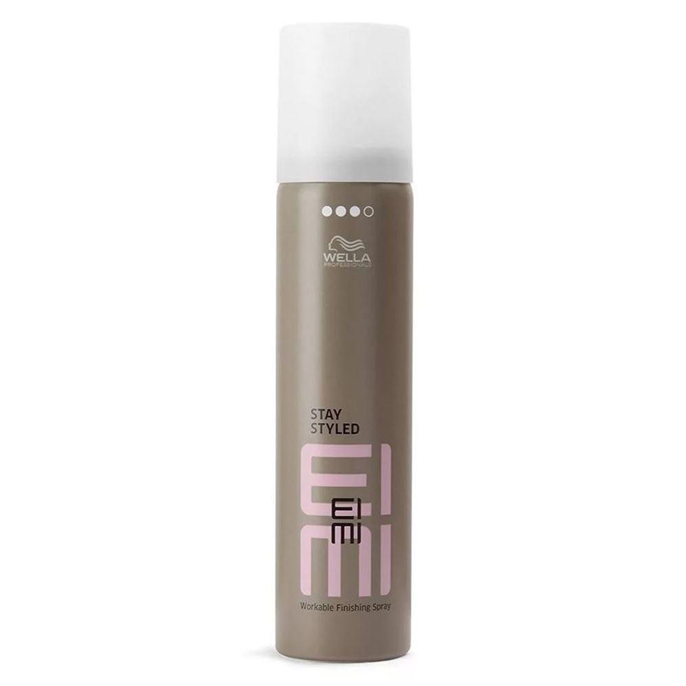 Набор: Лак Wella Professionals Stay Styled EIMI wella лак для волос сильной фиксации stay styled 500 мл
