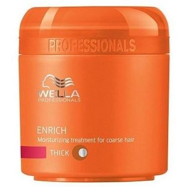 Крем Wella Professionals Moisturizing Treatment For Coarse Hair 500 мл wella питательная крем маска для жестких волос wella enrich moisturising treatment for coarse hair 81267023 500 мл