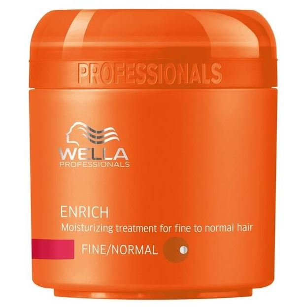 Крем Wella Professionals Moisturizing Treatment For Fine To Normal Hair 500 мл wella питательная крем маска для жестких волос wella enrich moisturising treatment for coarse hair 81267023 500 мл