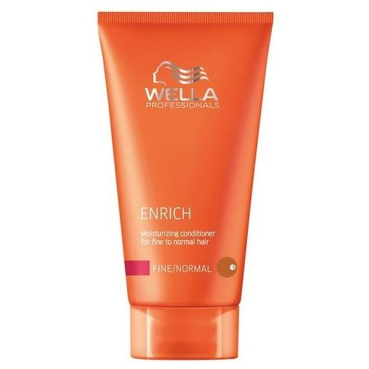 Бальзам Wella Professionals Moisturizing Conditioner For Fine To Normal Hair wella питательный шампунь для объема нормальных и тонких волос wella enrich moisturising shampoo for fine to normal hair 81235139 1000 мл