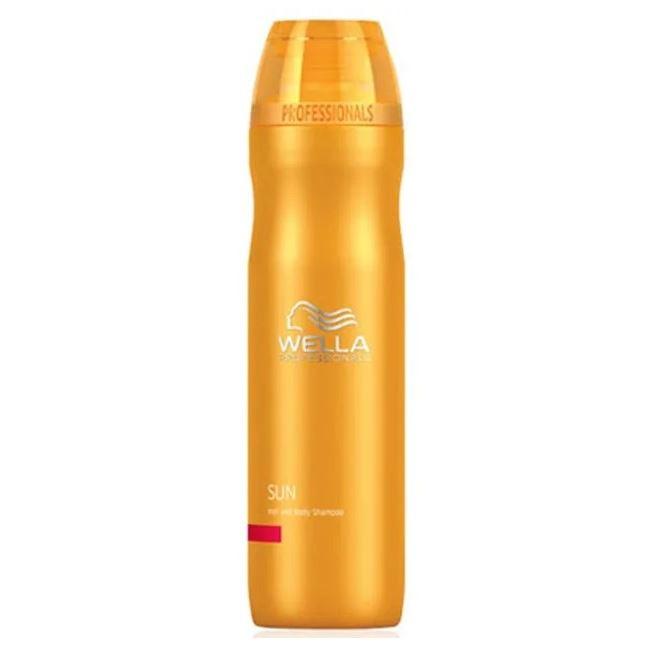 Шампунь Wella Professionals Sun Shampoo 250 мл крем wella professional sun hair