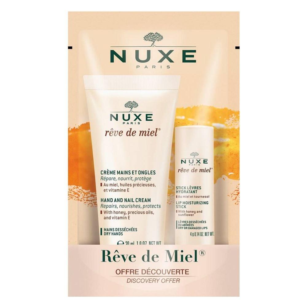Набор: Крем Nuxe Набор Рев де Мьель nuxe рэв де мьель ночной крем для лица восстанавливающий комфорт