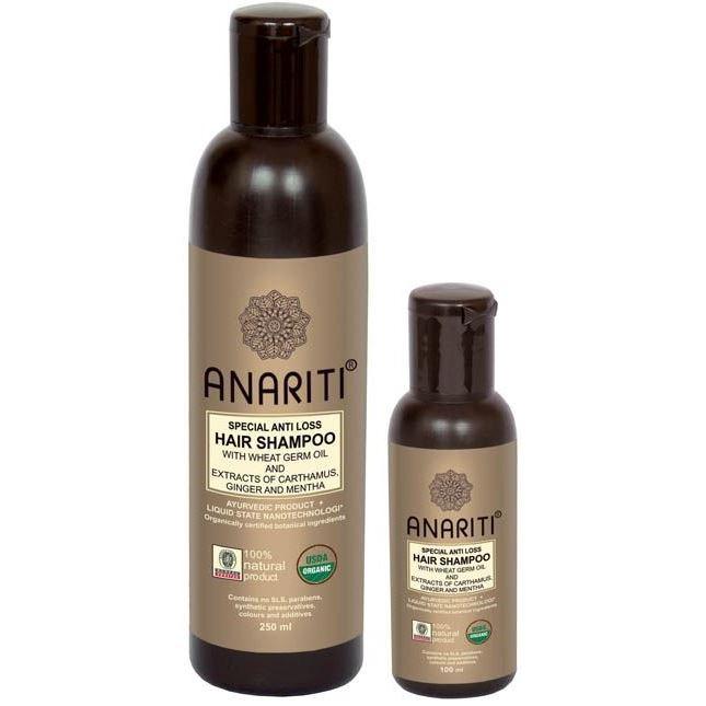 Шампунь Anariti Special Anti Loss Hair Shampoo anariti против выпадения волос с малом каранджи масло дикого шафрана