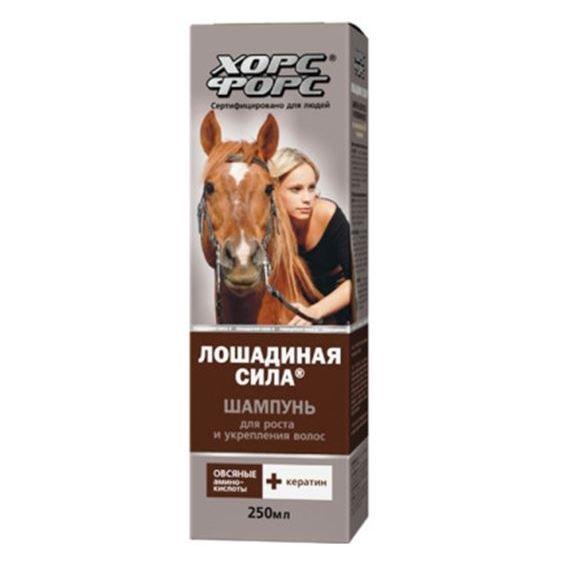 Шампунь Horse Forse Шампунь для роста и укрепления волос крем horse forse крем буренка