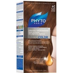 Краска для волос Phyto 6C Темный Блонд (Phyto Color - 6C) phyto фито фитоколор краска для волос набор 9 очень светлый блонд