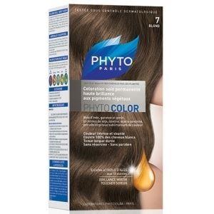 Краска для волос Phyto 7 Блонд (Phyto Color - 7) phyto фито фитоколор краска для волос набор 9 очень светлый блонд