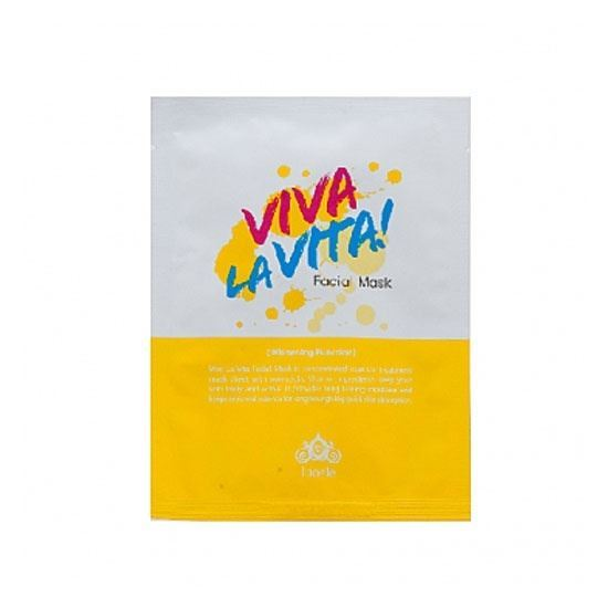 Маска Lioele Viva La Vita Facial Mask (25 гр) косметические маски vescillonia маска для лица с экстрактом миндаля vescillonia enrich facial mask 5 шт