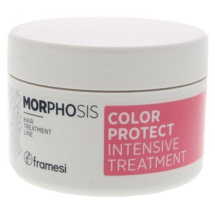 Маска Framesi Color Protect Protect Intensive Treatment 200 мл goldwell маска интенсивная 60 секунд для сухих и поврежденных волос goldwell dualsenses rich repair 60 sес treatment 200 мл
