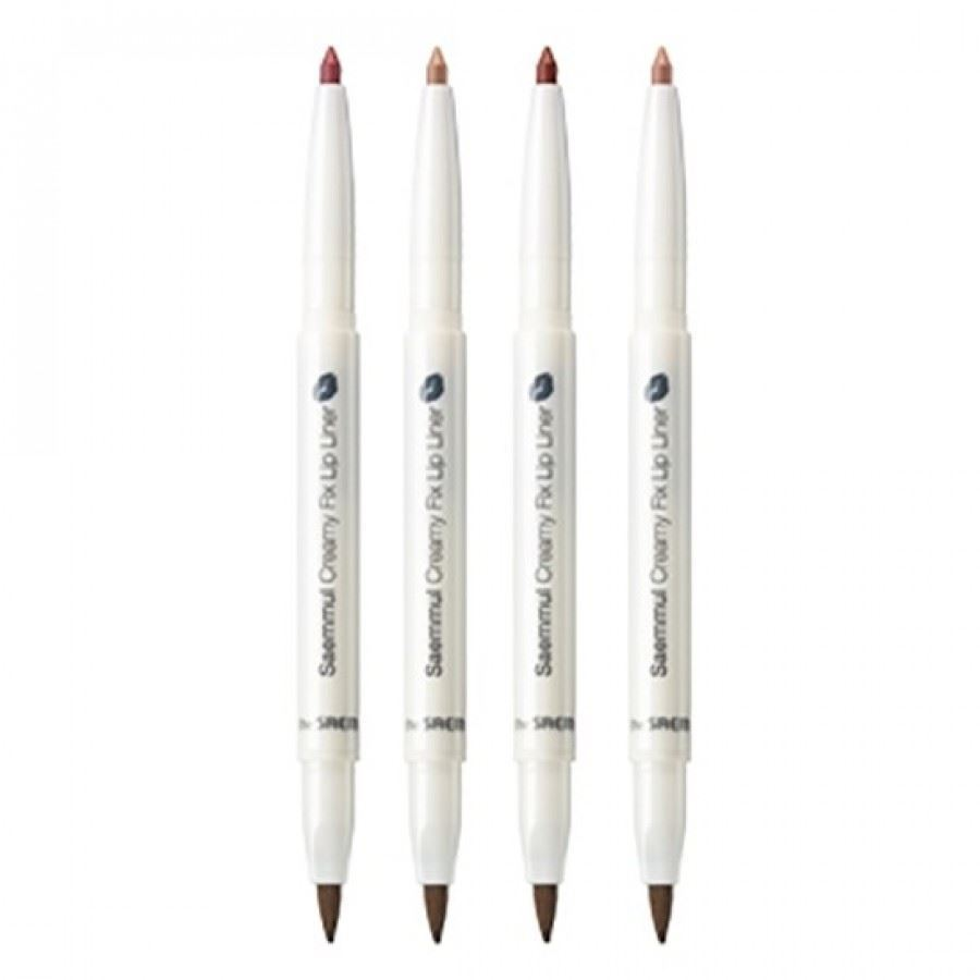 Карандаши The Saem Saemmul Creamy Fix Lip Liner (04) воск the saem style fix volume wax