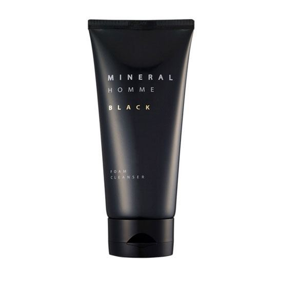 Пенка The Saem Homme Black Mineral Foam Cleanser тоник the saem mineral homme black toner