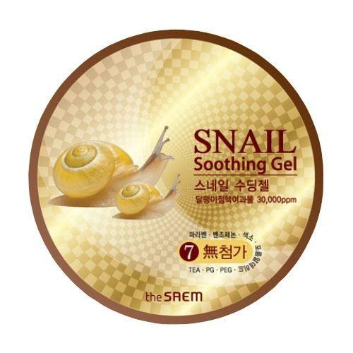 Гель The Saem Snail Soothing Gel 300 мл гель the saem snail soothing gel объем 300 мл