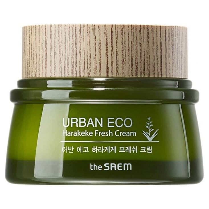 Крем The Saem Urban Eco Harakeke Fresh Cream 60 мл крем the saem chocopie hand cream marshmallow 3 35 мл