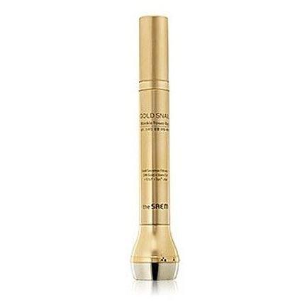 Сыворотка The Saem Gold Snail Wrinkle Power-Ray крем the saem snail essential ex wrinkle solution eye cream